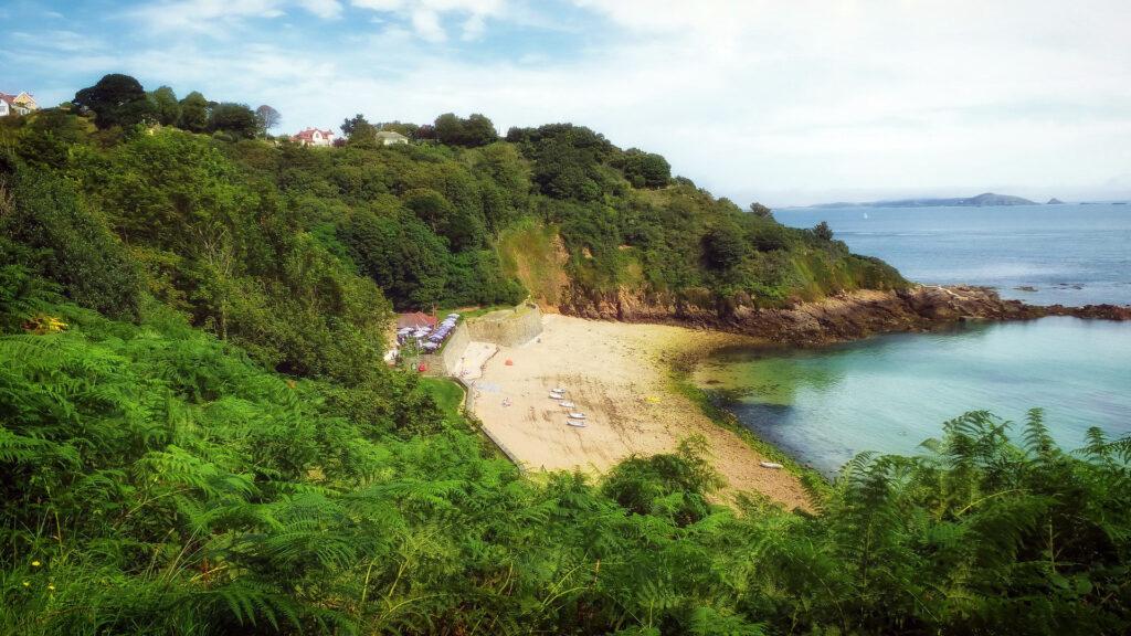 wandelen op Guernsey