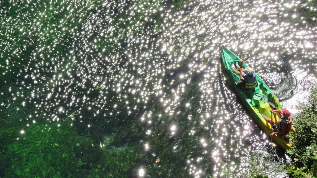 Kayakken Gorges du Verdon Frankrijk Provence