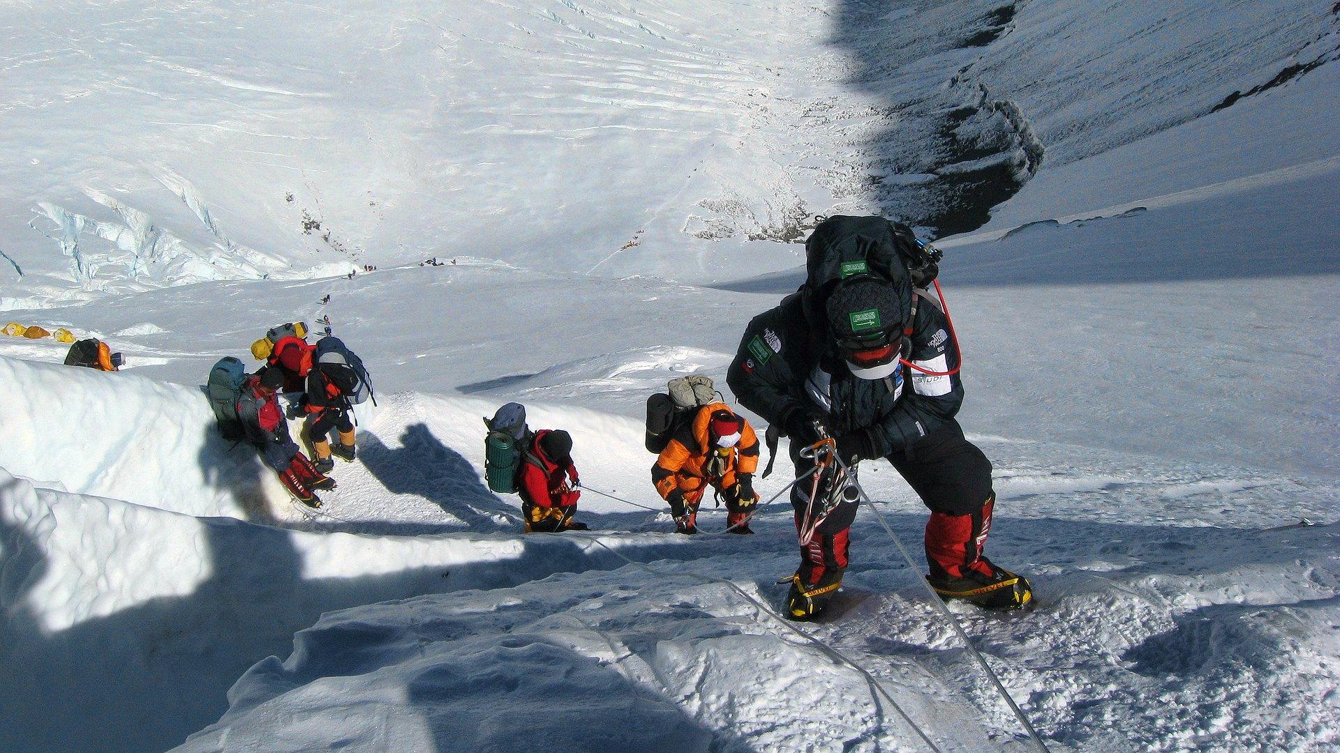 Beklimming Mount Everest