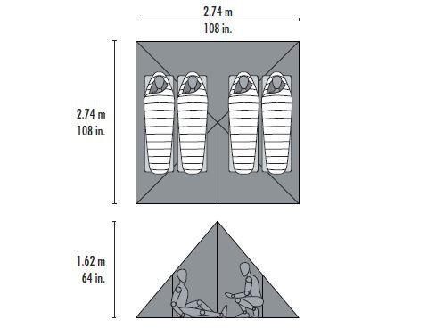 MSR Front Range tent